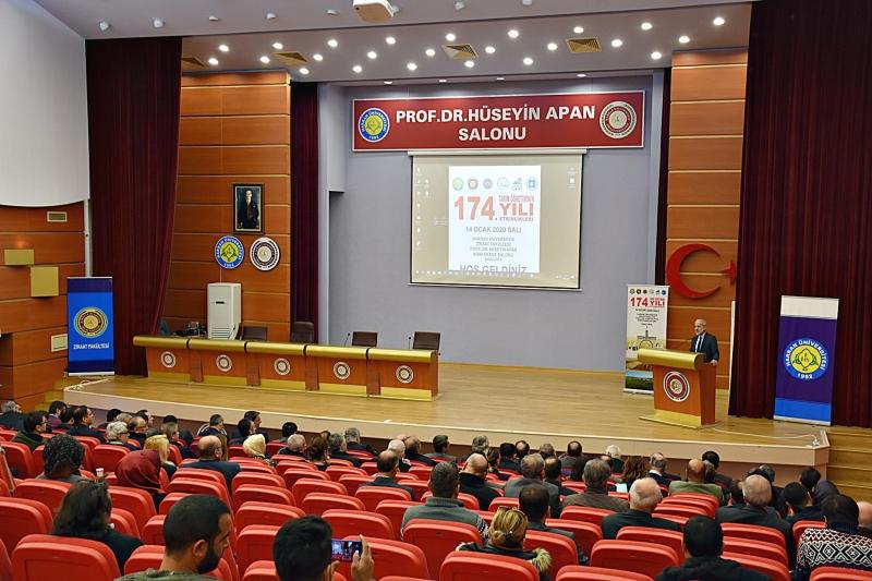 HRÜ'de Tarım Öğretiminin 174'üncü Yıldönümü Kutlandı