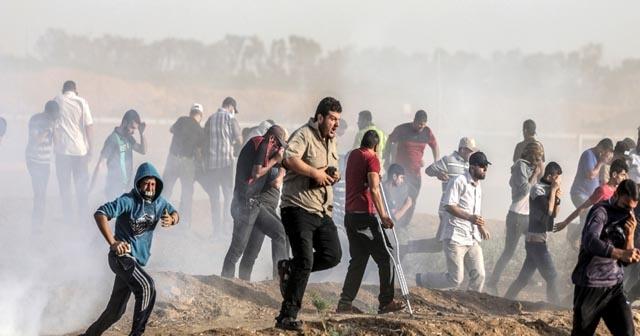İsrail askeri yine saldırdı