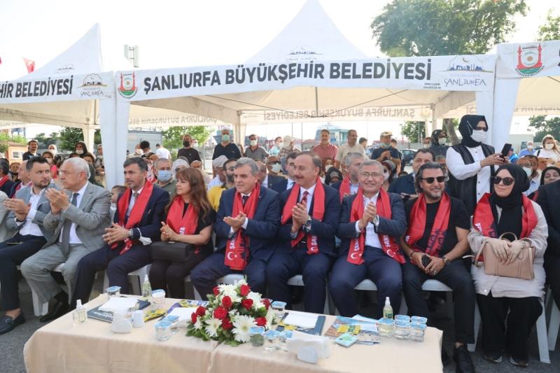 """İSTANBUL'DA """"ŞANLIURFA TANITIM GÜNLERİ"""" COŞKUSU"""