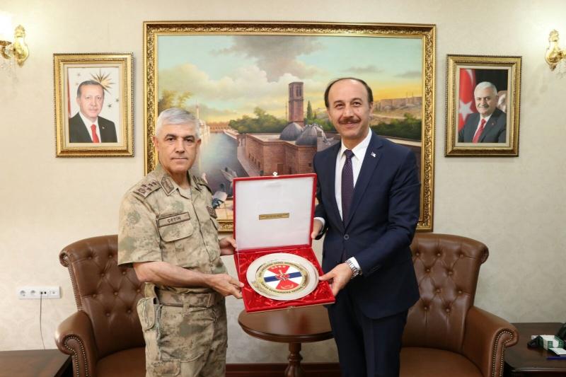 Jandarma Genel Komutanı ORG. Arif Çetin Şanlıurfa'da