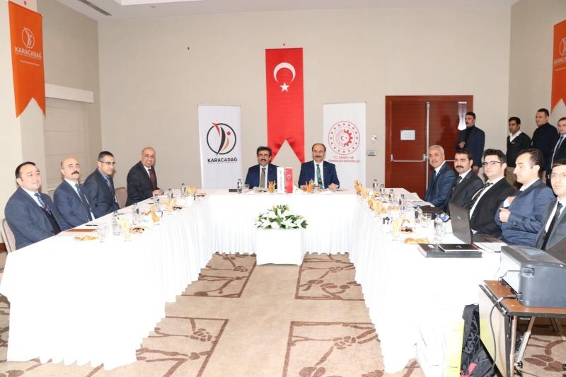 Karacadağ Kalkınma Ajansı Yönetim Kurulu toplantısı