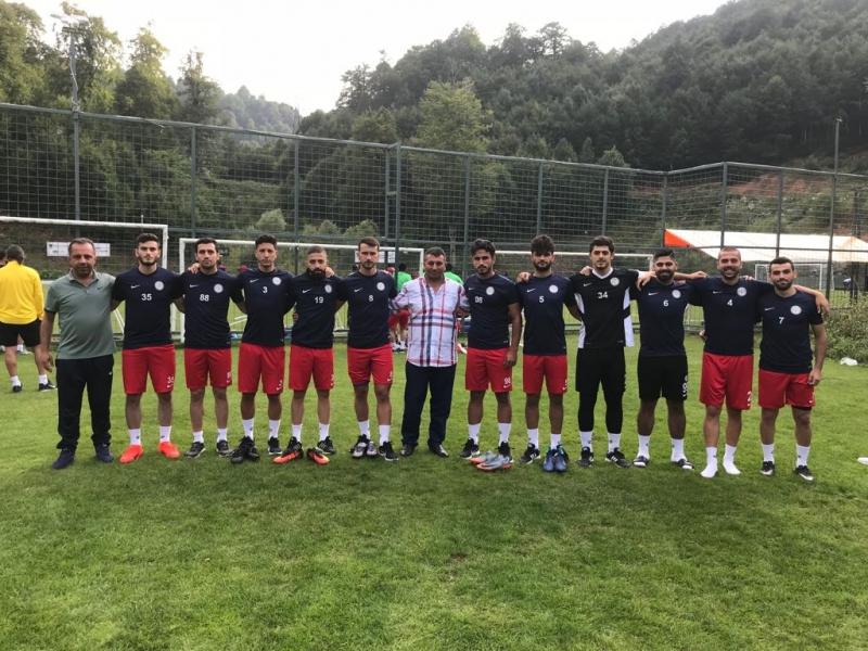 Karaköprü Belediyespor da birinci etap kampı başladı