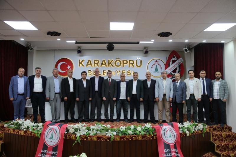 Karaköprü Belediyespor'da Görev Dağılımı Yapıldı