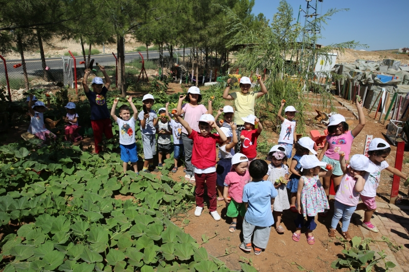 Karaköprü'de Çocuklara Doğa Sevgisi Ve Hijyen Eğitimi Verildi