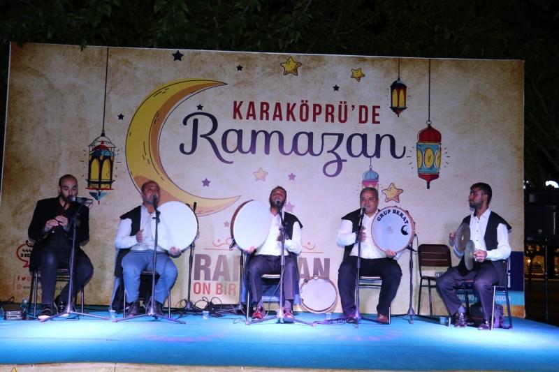 Karaköprü'de Ramazan Etkinlikleri Yaşam Sokağında Başladı