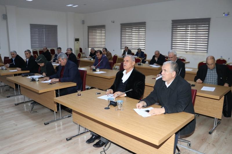 Karaköprü'de Yılın İlk Meclis Toplantısı Yapıldı