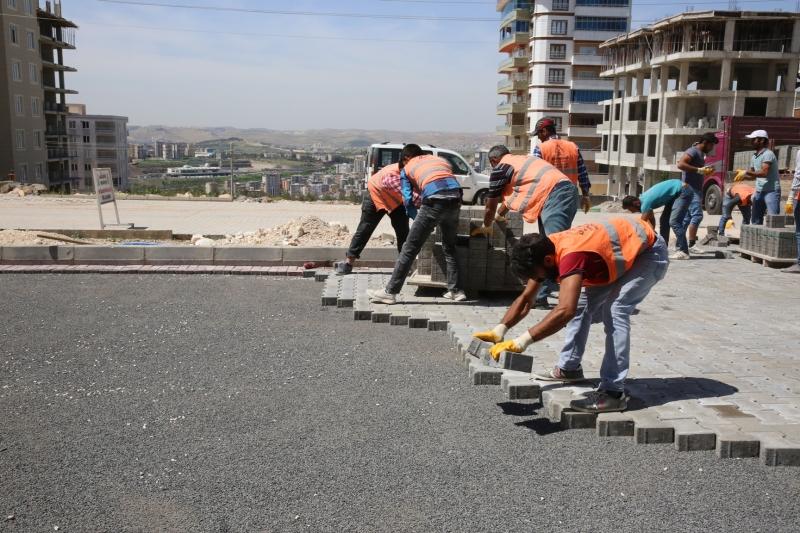 Karaköprü'de Yol Seferberliği Devam Ediyor