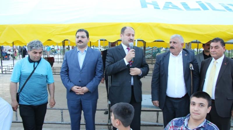 Kasım Gülpınar, Engelli Vatandaşlarla İftara Katıldı