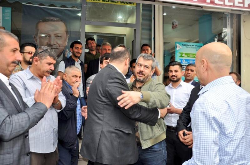 Kasım Gülpınar,Fatih Bucak'ı Ziyaret Etti