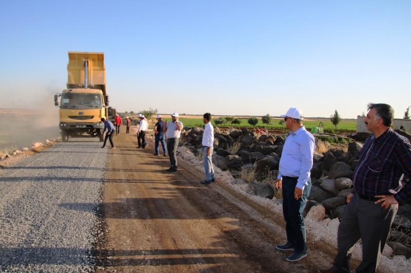 Kırsal Yollar Karayolları Standarlarına Getiriliyor