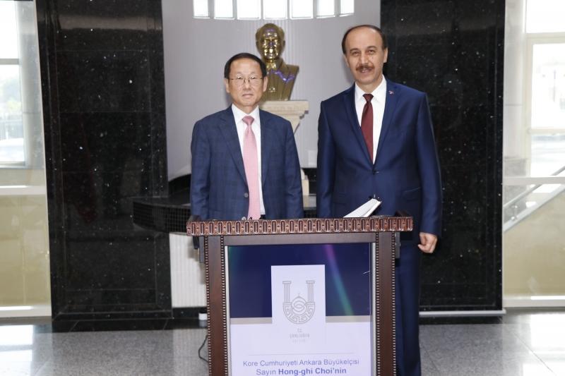 Kore Büyükelçisi Şanlıurfa'da