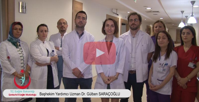Mehmet Akif İnan Eğitim ve Araştırma hastanesi Haliliye ek binasında kadın doğum kliniği hizmete girdi.