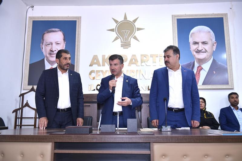 Mehmet Ali Cevheri ve Başkan Atilla Seçim Turunda