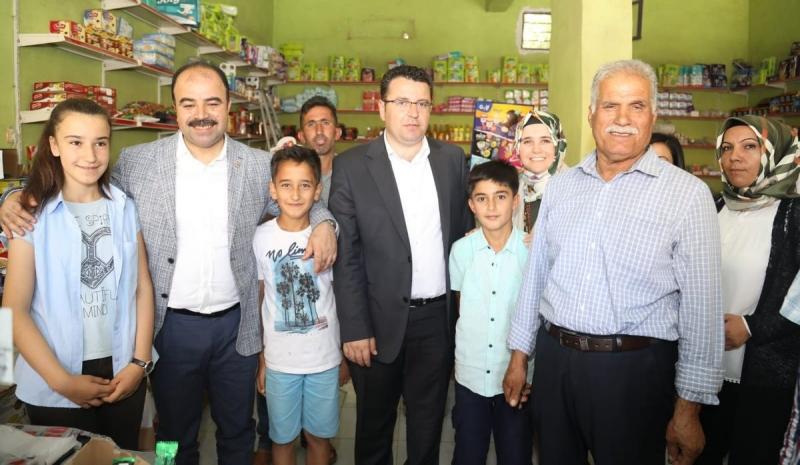 Mehmet Fatih Aksoy seçim bölgesinde