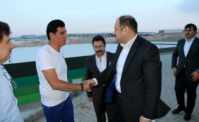 Mehmet Kasım Gülpınar sanayicilerle