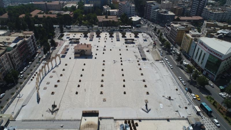 Rabia Meydanı Açılışa Hazırlanıyor
