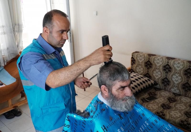 Ramazan Bayramı Öncesi Bayram Tıraşları Haliliye Belediyesi'nden