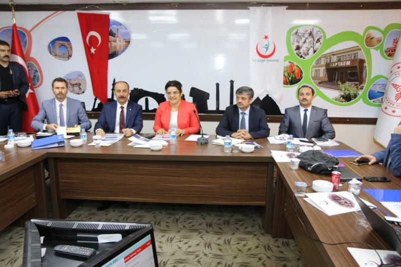 Sağlık Bakanlığı tarafından  Şanlıurfa İl Değerlendirme Toplantısı Yapıldı.