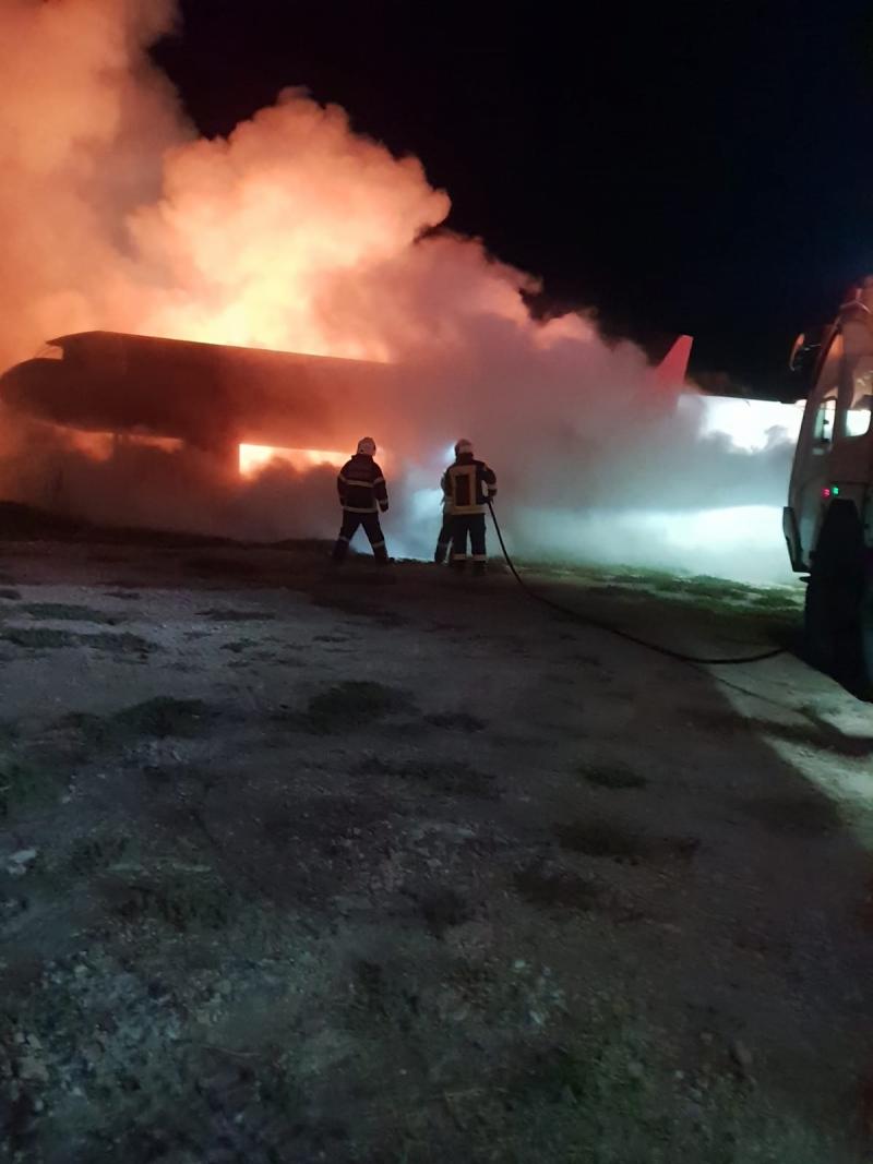 Şanlıurfa Gap Havalimanında Yangın Tatbikatı