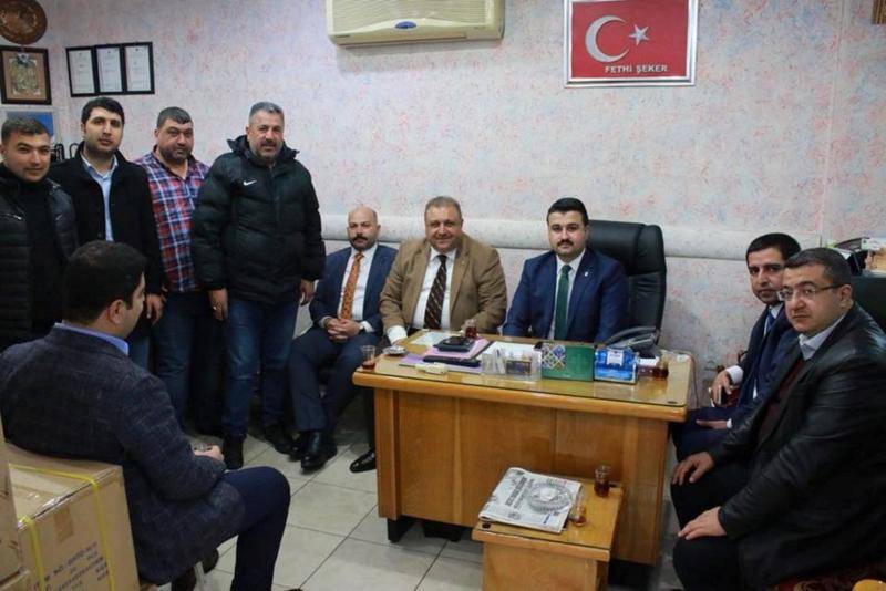 Şanlıurfa İl Başkanı Yıldız, partisinin Başkan adaylarına destek arayışlarını sürdürüyor;