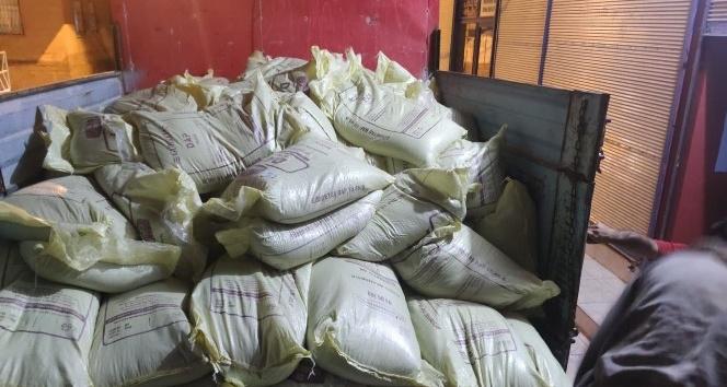 Şanlıurfa'da 22 ton sahte gübre ele geçirildi