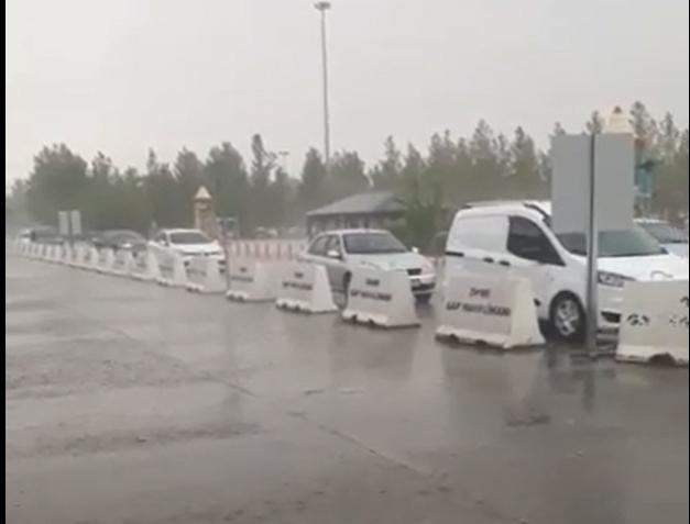 Şanlıurfa'da Ağustos yağmuru