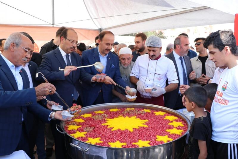 Şanlıurfa'da Cumhurbaşkanlığı Aşure ikramı