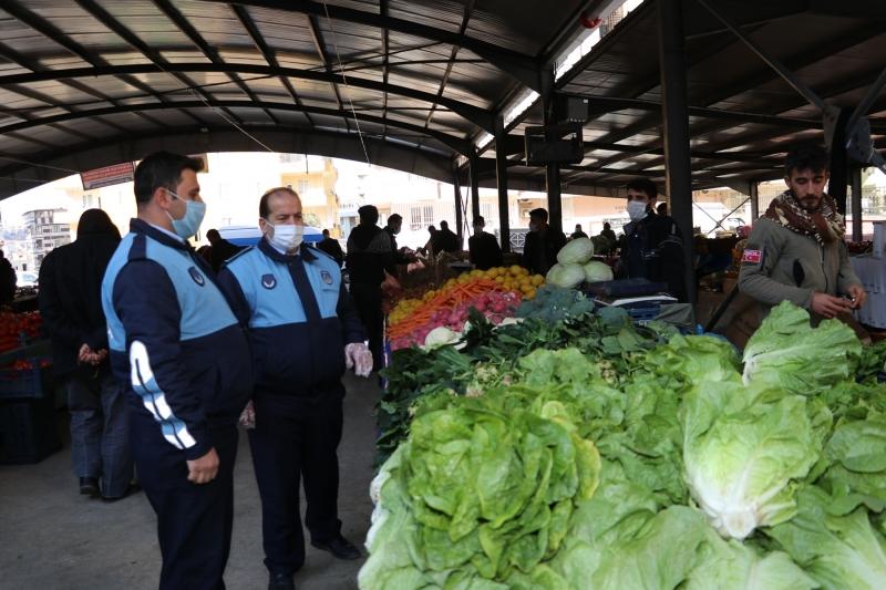 Şanlıurfa'da kurulacak pazar yerleri belirlendi