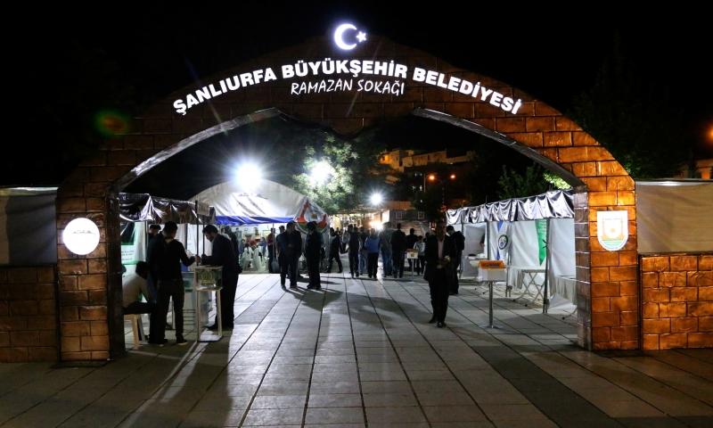 Şanlıurfalıların İftar Sonrası Adresi Ramazan Sokağı Oldu