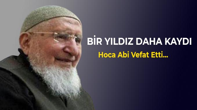 Şanlıurfa'nın Mustafa Hocası vefat etti.