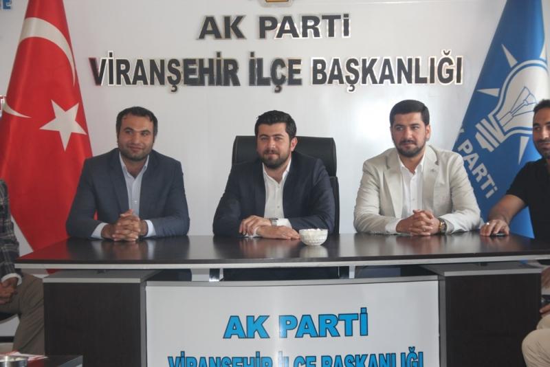 Sedat Ertürk Viranşehir Ve Ceylanpınar'da