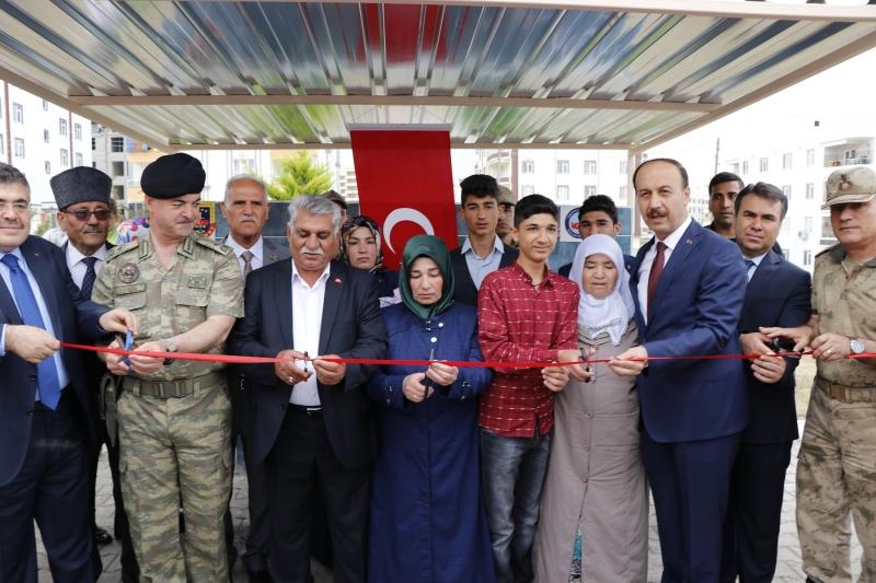 Şehit Sedat Sağır Ortaokulu'nun Açılışı Yapıldı