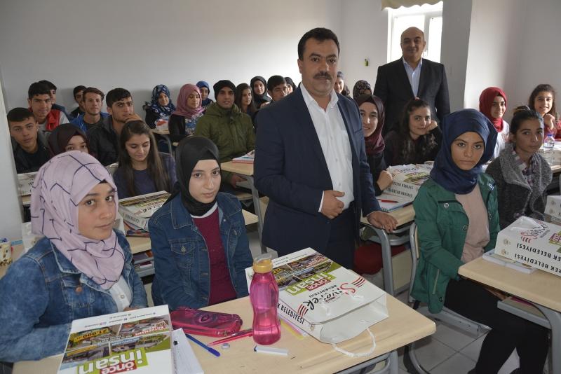 Siverek Belediyesi öğrencileri sınavlara hazırlıyor