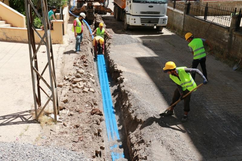 Siverek Merkez İçme Suyu Projesi Devam Ediyor