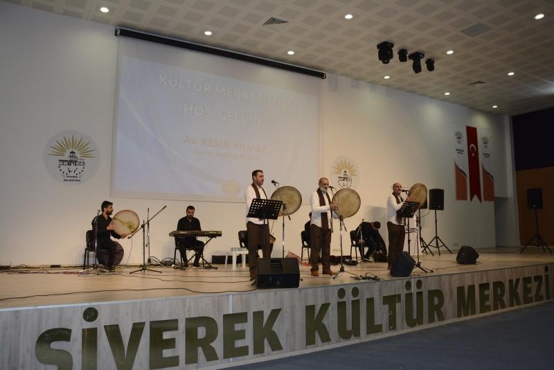 Siverek'te Mevlid-i Nebi programı düzenlendi