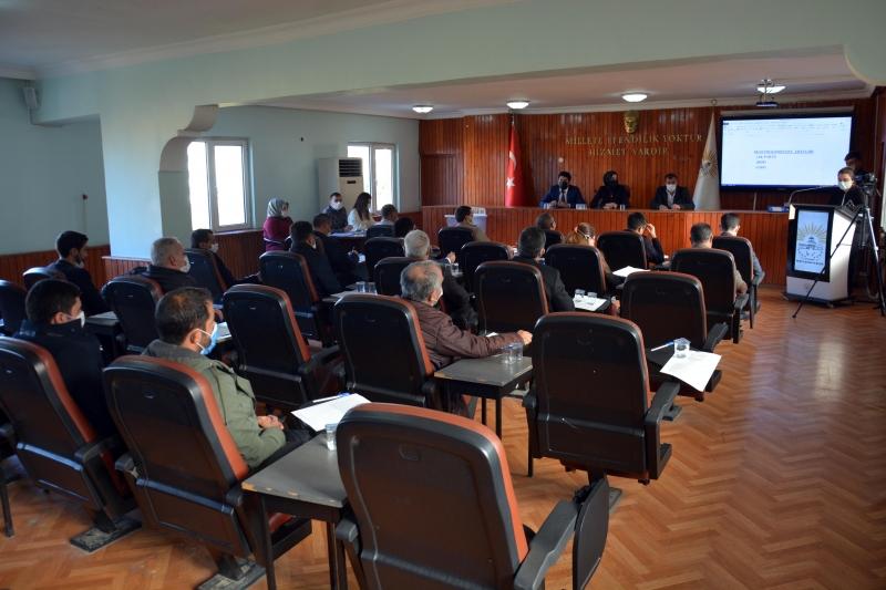 Siverek'te yılın ilk meclis toplantısı yapıldı