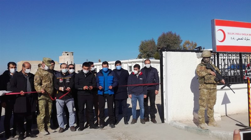 Suriye'nin Suluk bölgesinde yeni sağlık merkezi kuruldu