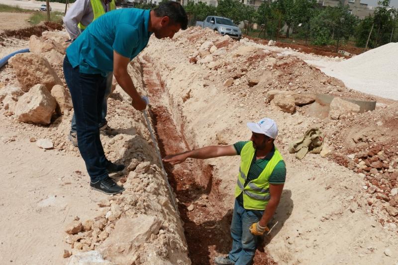 Şuski Yeni Yerleşim Alanlarının Alt Yapı İhtiyaçlarını Karşılıyor