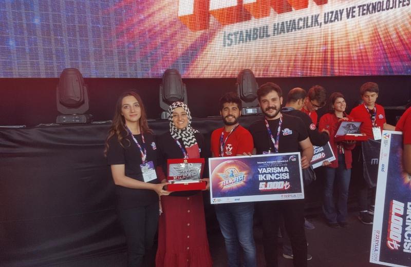 Teknofest 2019'da Harran Üniversitesi Sağlık Kategorisinde 2. Oldu