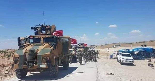 Türk askeri Münbiç'te!
