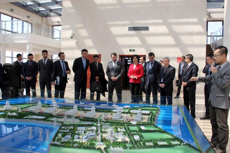 Türk-Çin Bor Protokolü İmzalandı