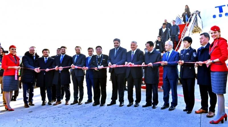 Türk Hava Yolları İstanbul-Xi'an seferlerine başladı
