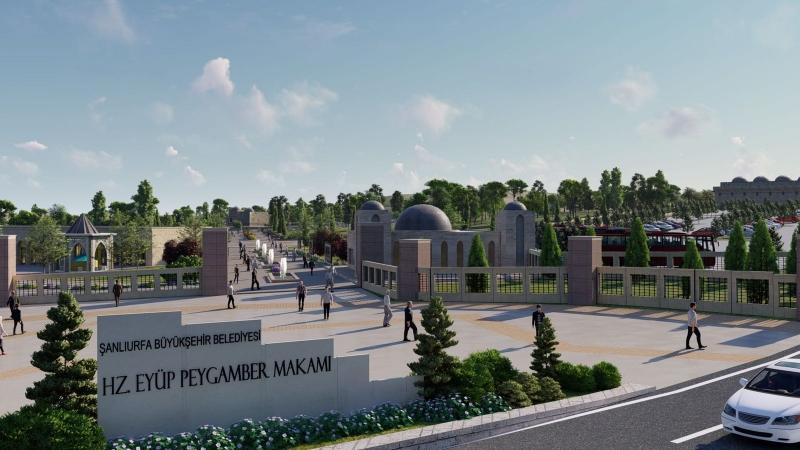 Türkiye'nin En Büyük inanç Merkezi Şanlıurfa'da Oluşturuluyor