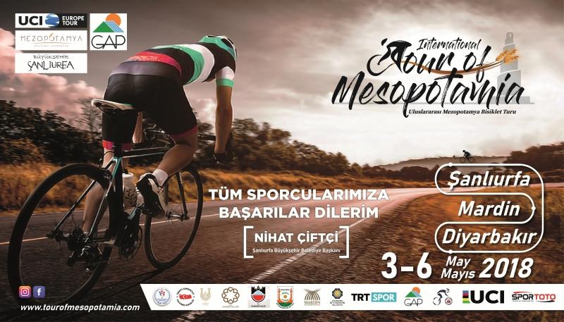 Uluslararası Mezopotamya Bisiklet Turu Başlıyor