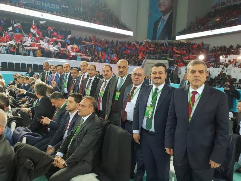 Urfa Ak kadro Ankara'da Yerlerini Aldılar