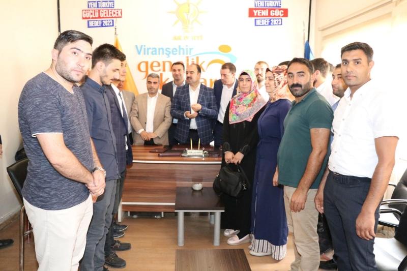 'Viranşehir,Ak Parti ile İstikrarı Gördü'