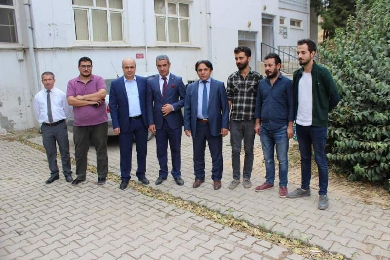 Yeni Viranşehir TRSM binası hizmete hazır hale getiriliyor.