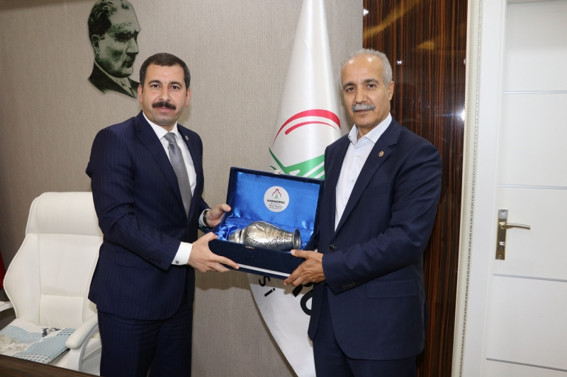 Yerel Yönetimler Başkan Yardımcısı Fırat'tan Başkan Baydilli'ye Ziyaret