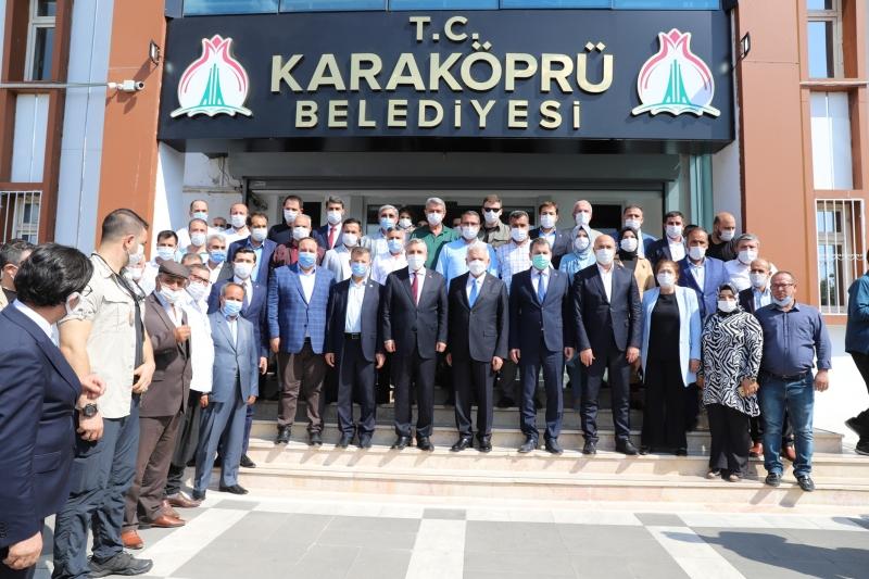 BİNALİ YILDIRIM'DAN BAŞKAN BAYDİLLİ'YE ZİYARET