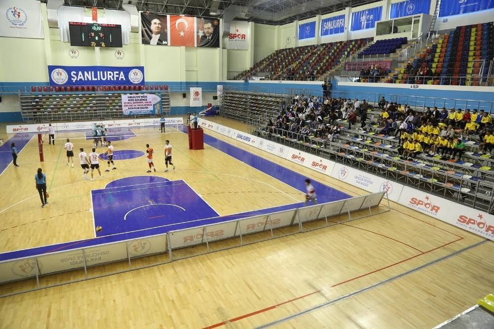 Derbide kazanan Haliliye Belediyespor